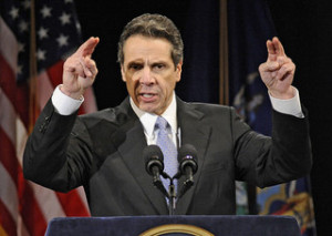 "Andrew cuomo says he' title='Andrew cuomo says he' /></div> <p>Garden State casinos and racetracks have hauled in $1.9 billion in sports bets since June, when they became legal — 80 percent of which were made on smartphones or online.</p> <p>But Cuomo said the actual tax revenue that flowed into Jersey's government coffers was minimal.</p> <p>""Sports betting, first of all, does not make you that much money,"" he said on Albany's WAMC radio. ""They raised something like $13 million — $13 million is a rounding error in our state [budget]. I am not a fan . . . [of when] you can bet anytime from your cellphone."" </p> <p>But critics noted that New Yorkers are crossing the border to place wagers and that the Empire State is a much bigger market than New Jersey. </p> <div style='text-align:center;"