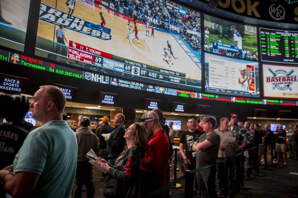 Career sports bettors battle the betting line - las vegas sun newspaper Colin Cowherd