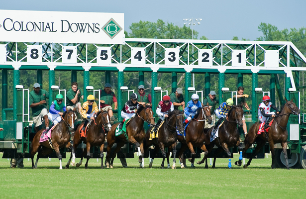 Colonial downs comes alive again, with horse racing and betting coming soon security plan includes 200 cameras