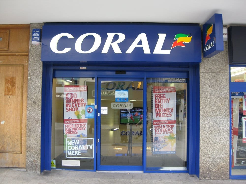 Coral betting shop opening times the on competitors take