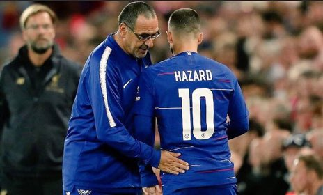 Coral has suspended betting on maurizio sarri to chelsea – feed football