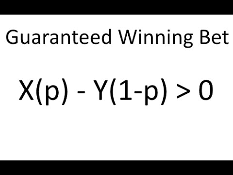 Guide to winning sports bets