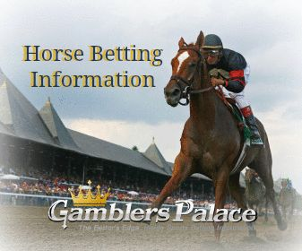 Horse racing betting information in game betting rules for roulette
