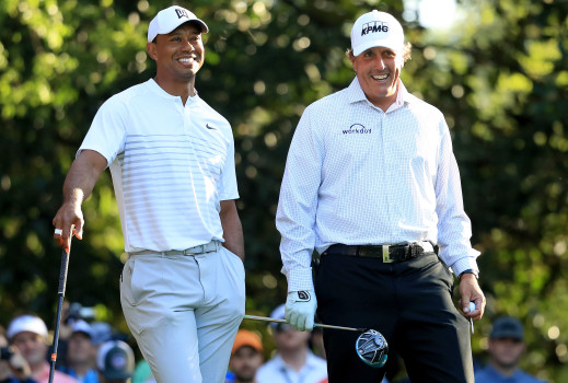 In-play golf betting will be front and center in made-for-tv tiger vs. phil match - legal sports report 65-80