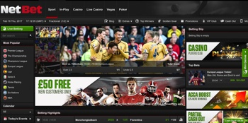 Netbet sport: online betting 1000 on the