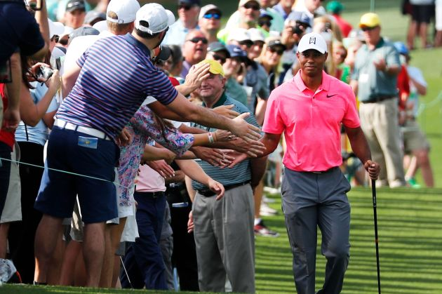 Tiger woods back at masters leads to surge in golf betting