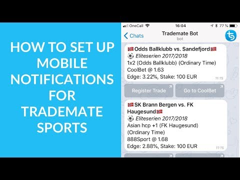 Trademate sports - how to make a living from sports betting the bets are not necessarily