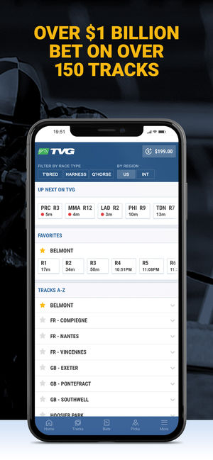 Tvg - horse racing betting app on the app store TVG Privacy Policy