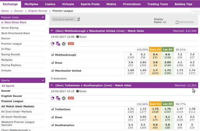 What is arb betting? betdaq explains
